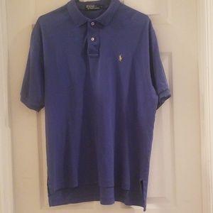 Ralph Lauren mens shirt blue large